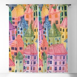 Summer City Blackout Curtain