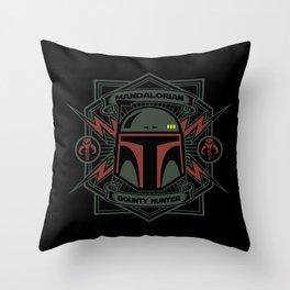 Mandalorian B H Throw Pillow