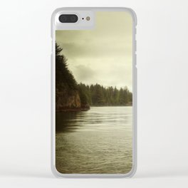 Salish C Tofino BC Clear iPhone Case