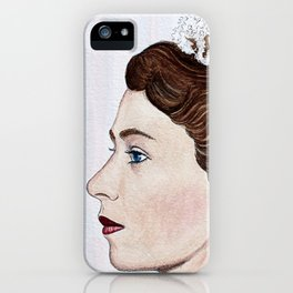 Elizabeth II iPhone Case