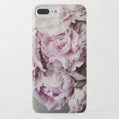 Pink Peony Slim Case iPhone 7 Plus