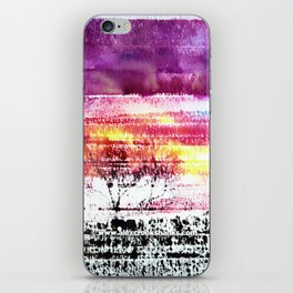 Skies Ablaze iPhone Skin