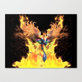 Flames of Life Canvas Print