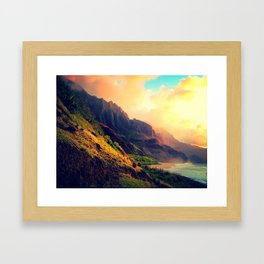 Wild Mountain Home Framed Art Print