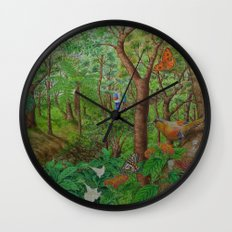 A Day of Forest (1). (walk into the forest) Wall Clock