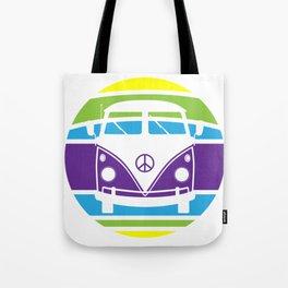 Humboldt Bus - Retro Tote Bag