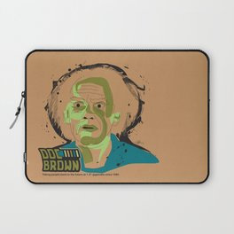 Doc Brown_INK - Back to the Future Laptop Sleeve