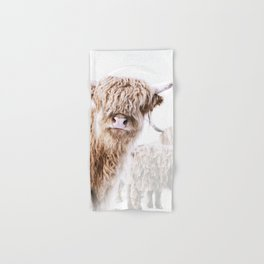 HIGHLAND CATTLE LULU Hand & Bath Towel