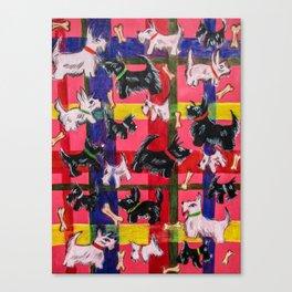 scotties Canvas Print