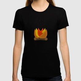 Camping Series: fire T-shirt