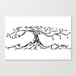 Twisting Tree Canvas Print