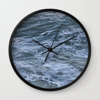 rush Wall Clocks featuring Rush by Olivia