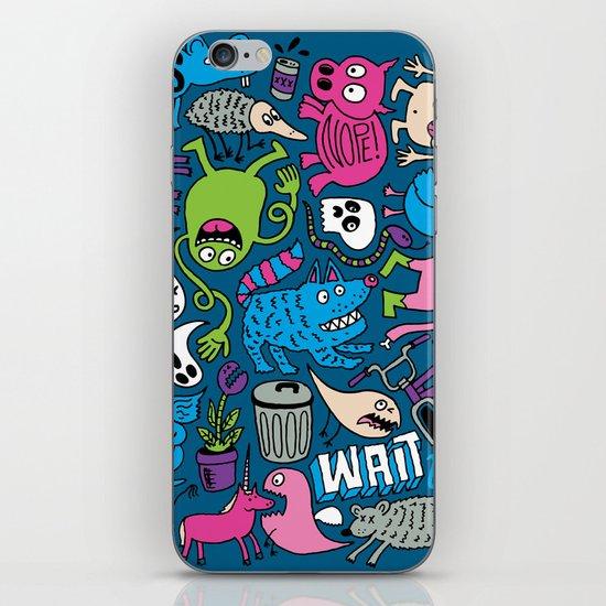 Wait, What? iPhone & iPod Skin