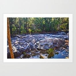 Chidester Canyon Art Print