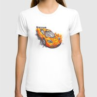 f1 T-shirts featuring McLaren F1  by Claeys Jelle Automotive Artwork