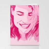 tyler spangler Stationery Cards featuring Rose Tyler by AlysIndigo