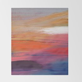 Haze Throw Blanket