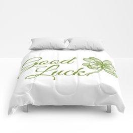 Good luck! Comforters