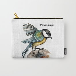 Parus Major Carry-All Pouch