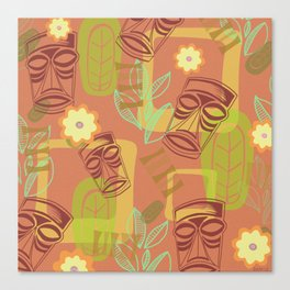 Happy Hour At The Tiki Room Canvas Print