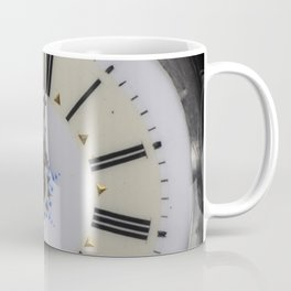 Portrait of an old watch face Coffee Mug