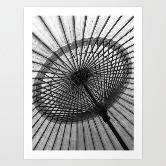 Oil-Paper Parasol Art Print