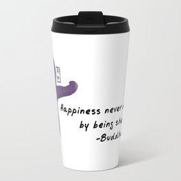Starfish Zenimal with Buddha Quote Travel Mug