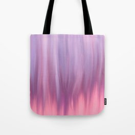 Modern pink lavender lilac watercolor brushstrokes Tote Bag