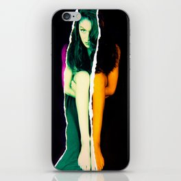 Ripped Girl iPhone Skin