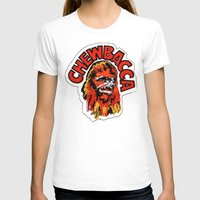 chewbacca T-shirts featuring Chewbacca by Popp Art