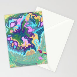 Pleasure Island Stationery Cards