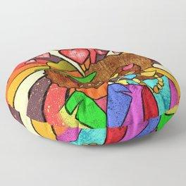70's Love Floor Pillow
