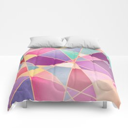STAINED GLASS WINDOW Comforters