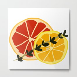 Summer Cocktail Metal Print
