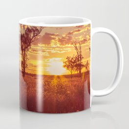As the Sun Sets in the Heartland Coffee Mug
