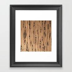 Inside White Pine Framed Art Print
