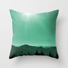 My scenic homeland Throw Pillow