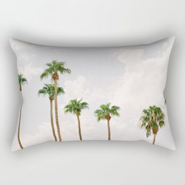 Palm Springs Palm Trees Rectangular Pillow
