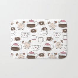 Coffee Time Bath Mat