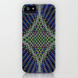 Blue Maniac iPhone Case