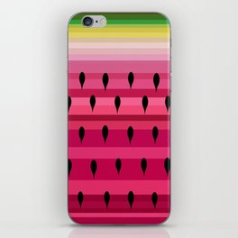 Love of a Watermelon iPhone Skin