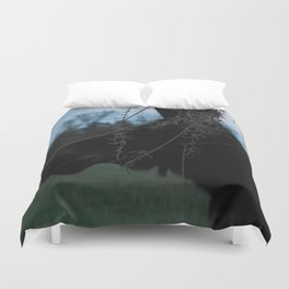 Missy Evening profile Duvet Cover