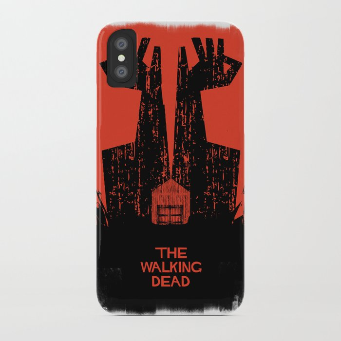 The Walking Dead. iPhone Case