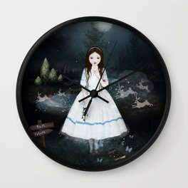begin-again Wall Clock