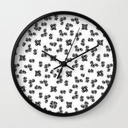 Ink Stroke II Wall Clock