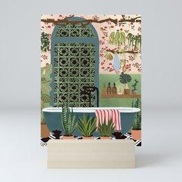 Night bath Mini Art Print