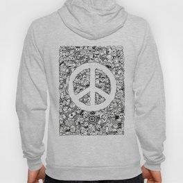 Peace Doodle Hoody