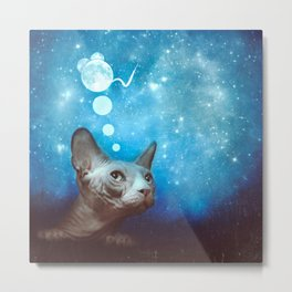 Night Dreamer Metal Print