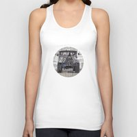 jeep Tank Tops featuring Jeep No. 1 by Adam Ambro