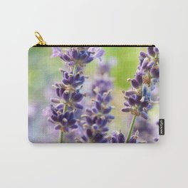 Lavender Flowers #1 #floral #art #society6 Carry-All Pouch